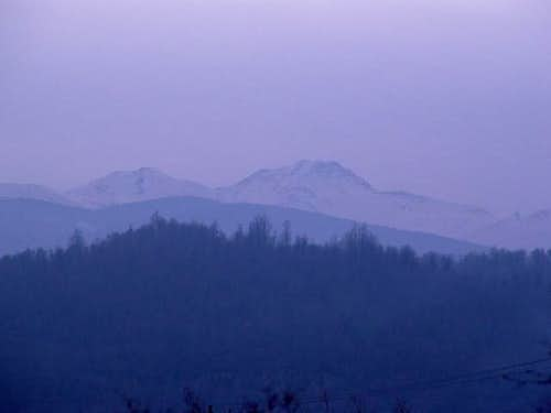 View of the massif from the...
