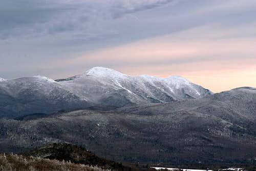 MacIntyre Range from Haystack...