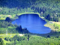 Riley Lake from Wheeler Mountain
