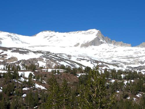 False White Mountain from Gardisky Lake trailhead
