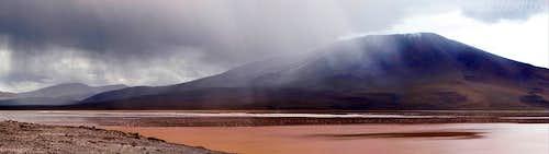 Storm over Laguna Colorada