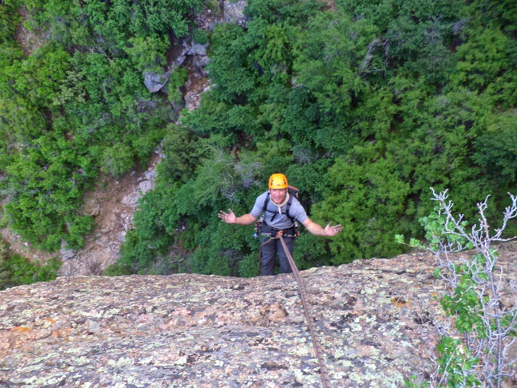 Rappel from The Dragon Tooth