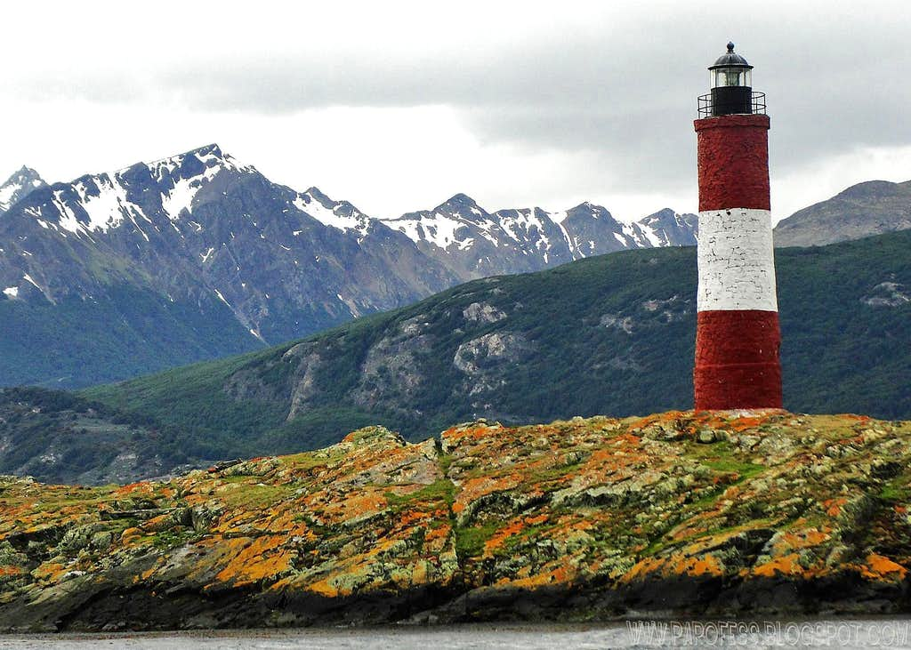 End of the world lighthouse