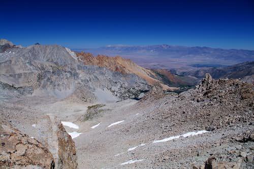 Owens Valley from Peak 13,172