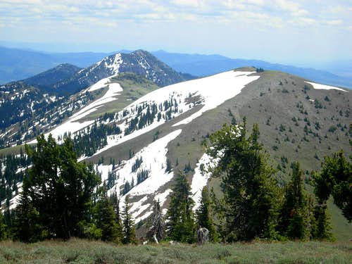Snow Peak and Haystack Mountain