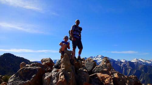On Mt. Olympus.