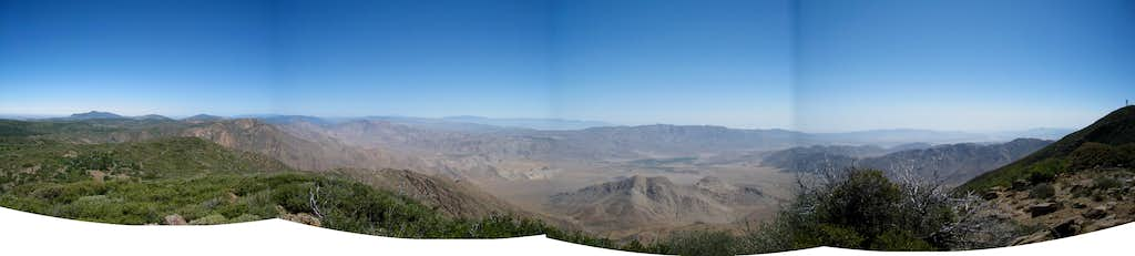 View from Monument Peak