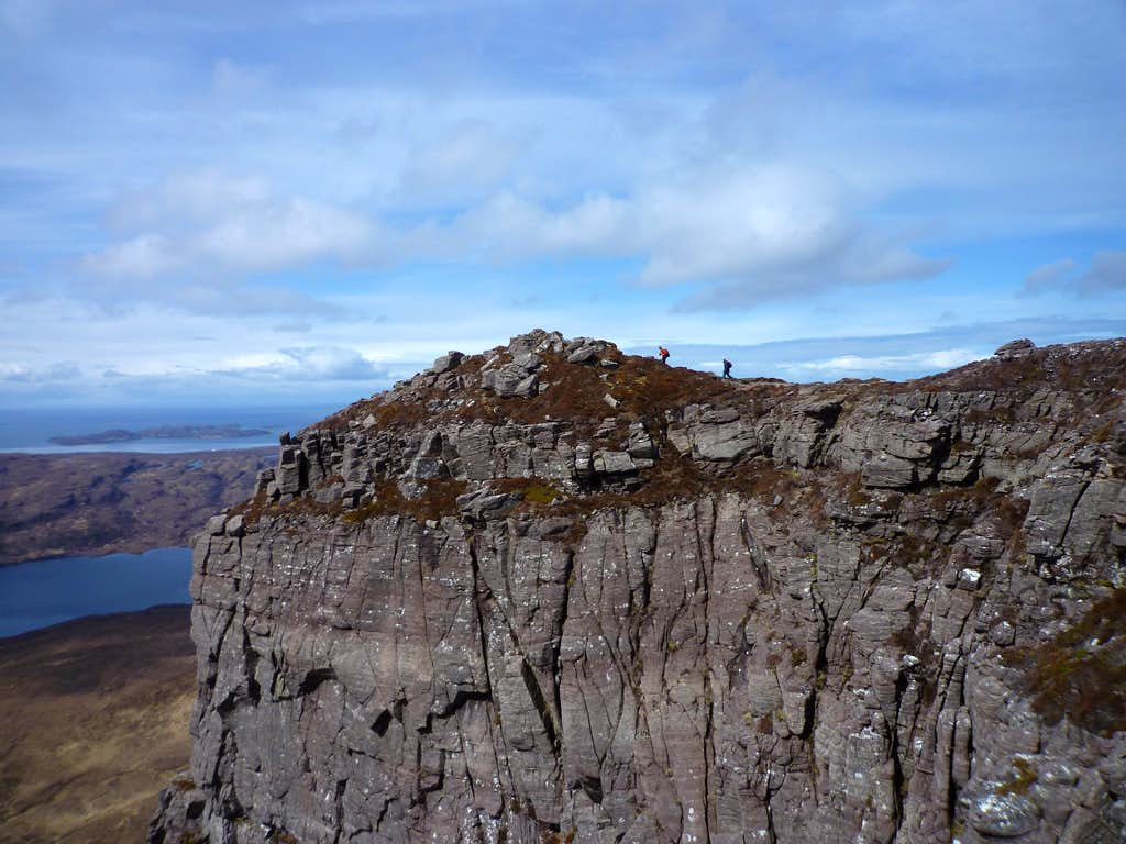 Stac Polly high point.