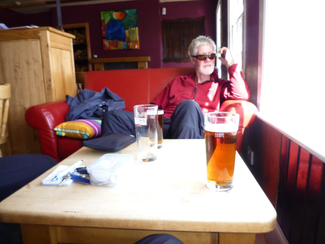 Refreshments in Ullapool