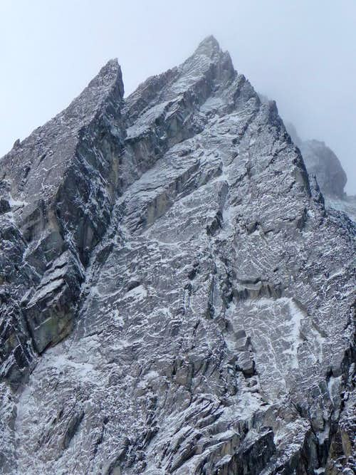 Dragontail's Towering North Face