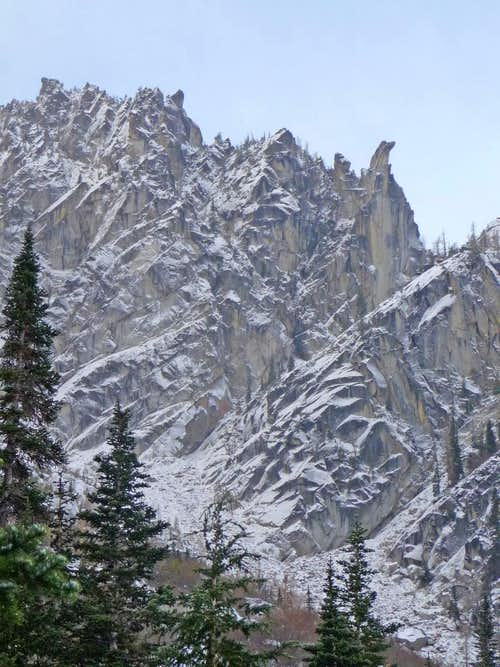 Cliffs on the Lower Edge of Colchuck