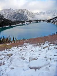 Looking Down on Colchuck Lake