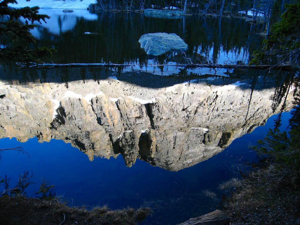 Reflection in Loch Vale