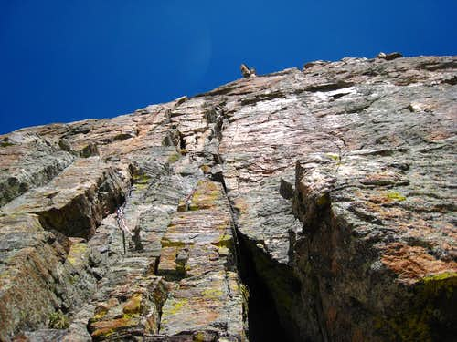 Looking up pitch 4