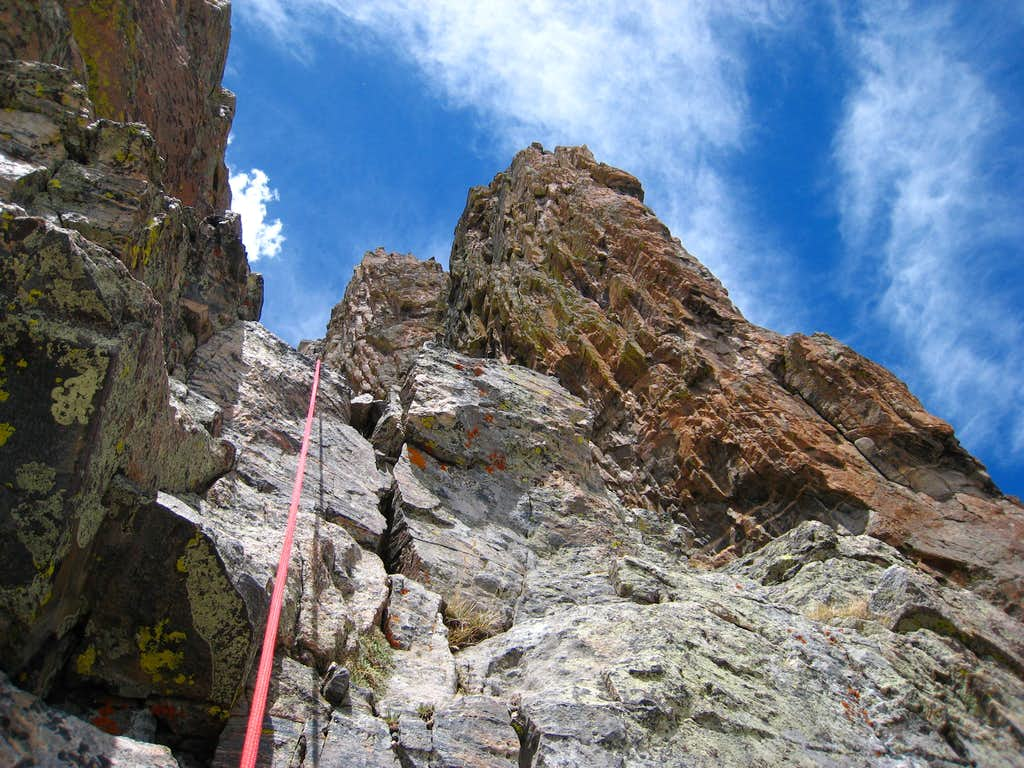 Looking up the fifth pitch