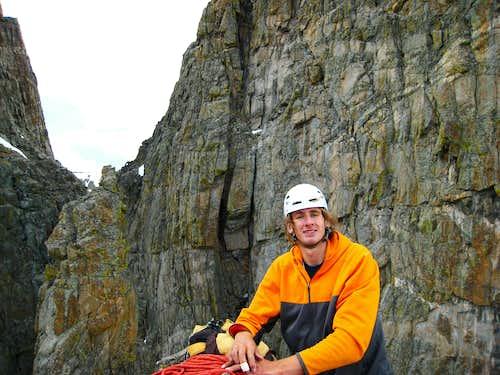 Me on the summit of Petit Grepon