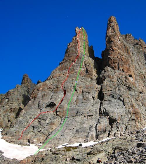 Petit Grepon Route topo