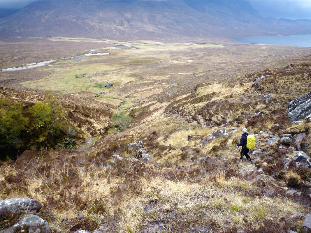 Descending to the Bothy