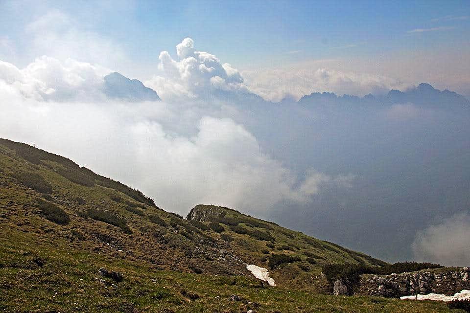 Monte Sernio from Monte Tersadia