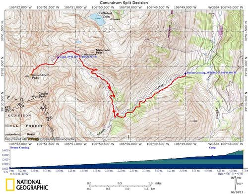 Split Decision Topo Map