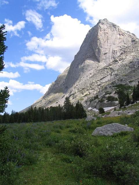 The west buttress of Mitchell Peak