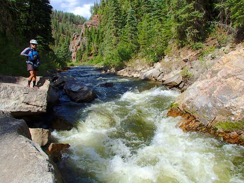Scouting the Piedra River