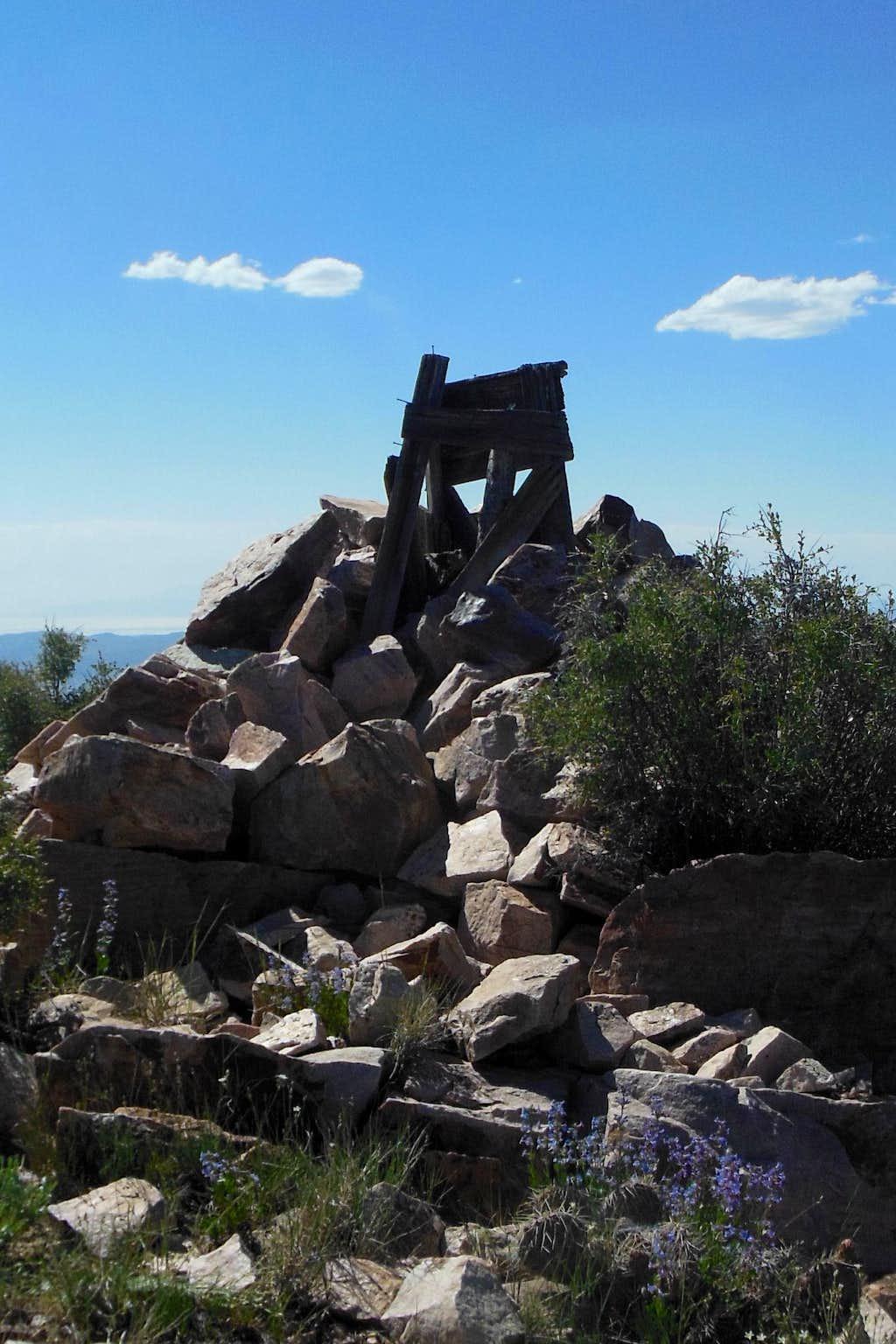 Onaqui summit cairn