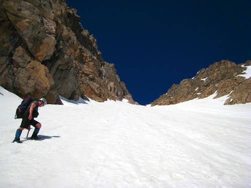 The NE Couloir