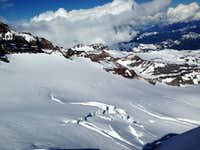 Glaciers on Rainier