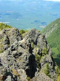Views from near the summit of the Haystack