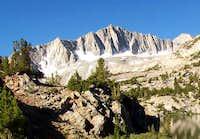 Mount Goode from Long Lake in...
