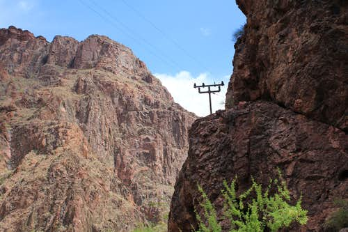 Telephone Pole on North Kaibab Trail