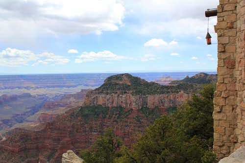 North Rim Lodge Terrace View