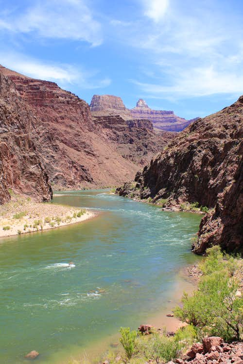Colorado River seen from River Trail