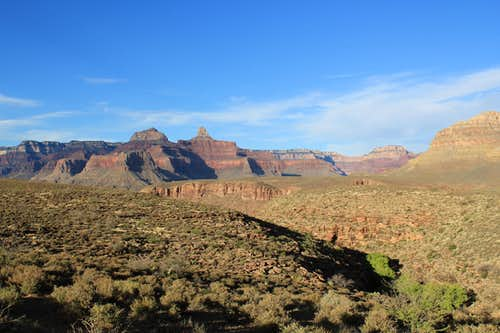 On way to Plateau Point from Indian Gardens