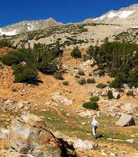 Use trail south of Saddlerock...