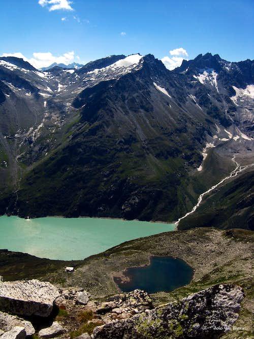 Bergseeschijen summit view