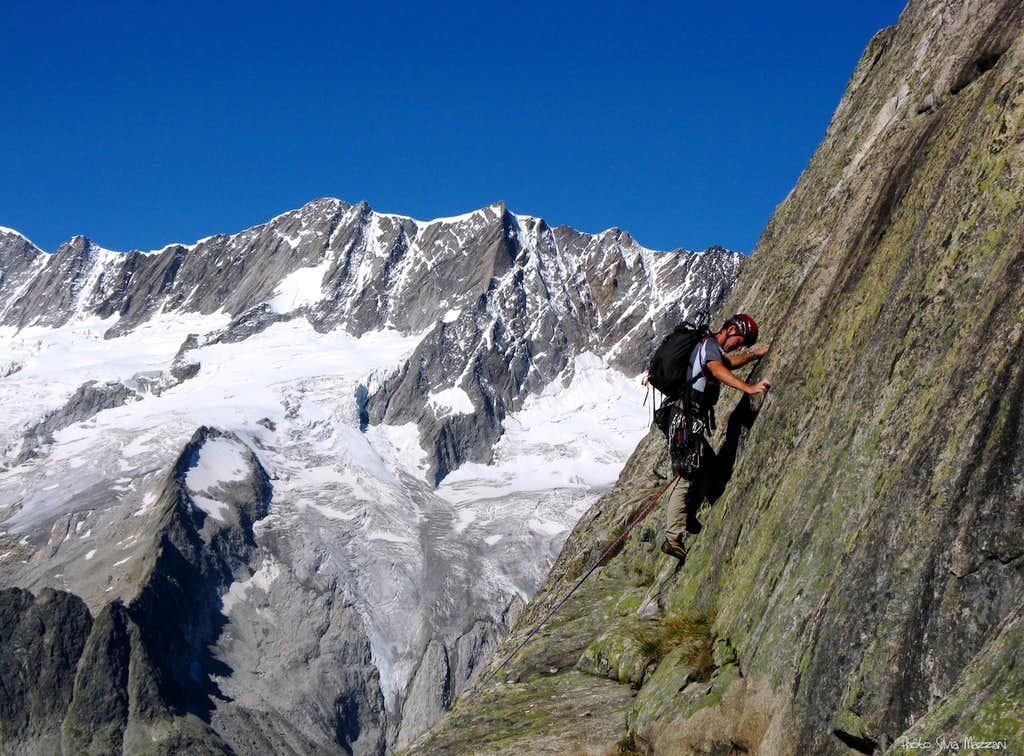 Fourth pitch of Andrea, Bergseeschijen S face
