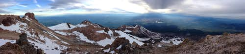 Shasta Summit Panorama