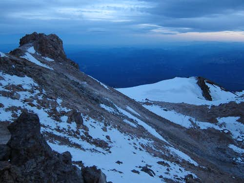 Night Falls on Shasta