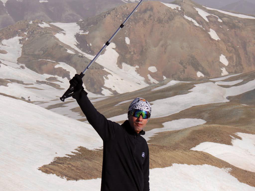 Tochal Summit - 3962m