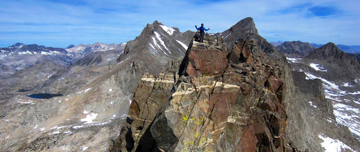 Tour de Palisade (Norman Clyde Peak and Palisade Crest)