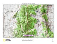 Butte Mountain (NV) map