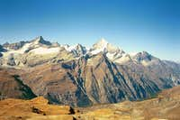 The Zinalrothorn and...