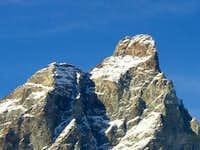 Summit of Matterhorn zooming...