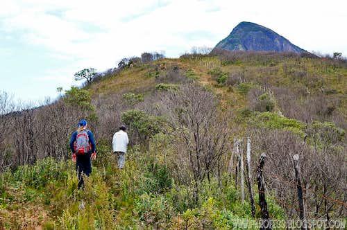 Hiking towards Mitra
