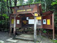 Adirondack Loj Registration Booth