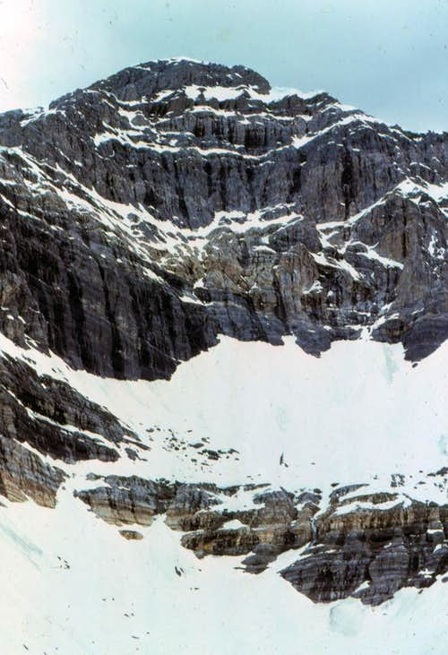 East Face of Mt Borah