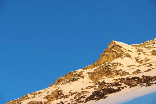 Climbing Bhagirathi - II, Alpine Style