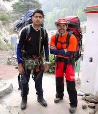 Ravi and I